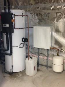 Production eau chaude solaire